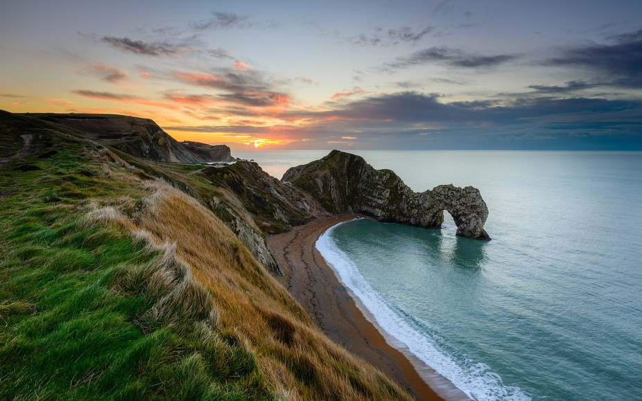 Durdle Door is a great location for any photographer, lot's of interest and history. Thi...