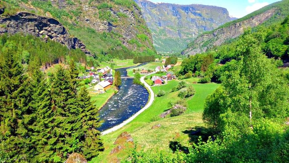 Sweeping Landscape Norway