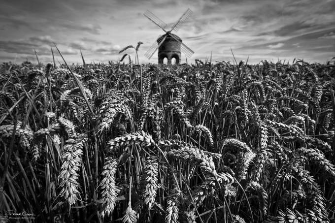 Chesterton Windmill Mono by petergreig - Composing with Patterns Photo Contest