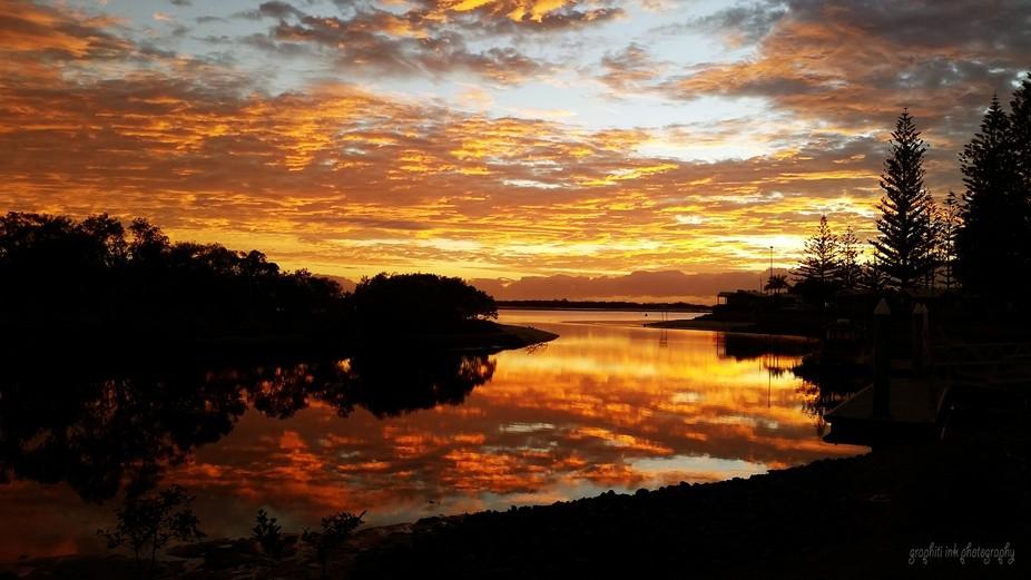 Beautiful Gold Coast sunrise