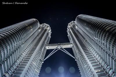 Twin towers..