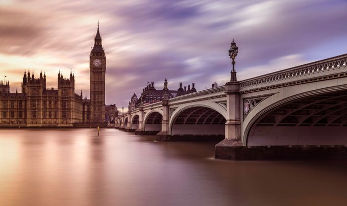 Behind The Lens: Big Ben Winter Sunset