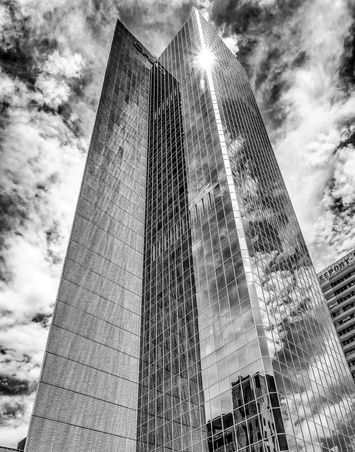 Phoenix Reflections by jjones6307 - Black And White Architecture Photo Contest