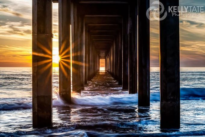 Colors of the Pacific by tatekellyl - The View Under The Pier Photo Contest