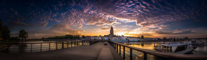 Boardwalk Deventer by martijnvansteenbergen - Sunrise Or Sunset Photo Contest