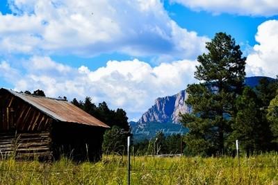 View of Hermits Peak