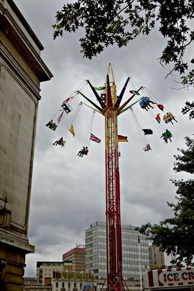 Spinning over Nottingham