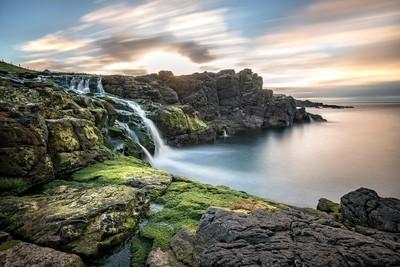 Dunseverick Waterfall, Northern Ireland