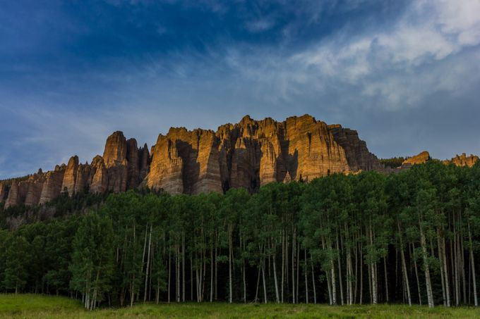 Owl Creek Sunset by brandydement - Spectacular Cliffs Photo Contest