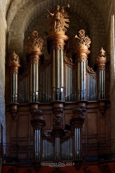 Baroque Organ in Romanesque Church