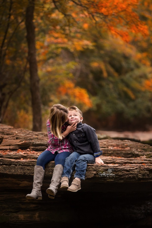 Sibling Love by AbbyMathison - Sitting In Nature Photo Contest