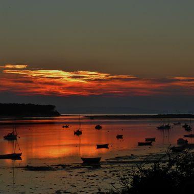 Findhorn Bay Sunset