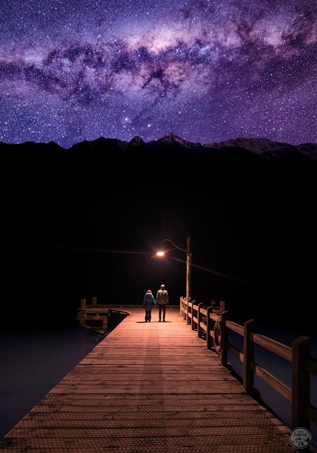 Stepping into the unknown by SouthofHome - Boardwalks Photo Contest