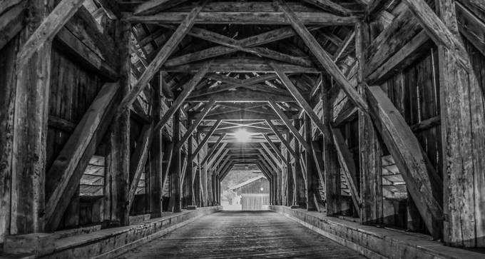 Wooden Construction by michaelmettier - Shooting Tunnels Photo Contest