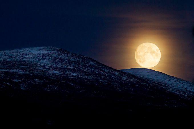 HuntersMoon by ManuKeggenhoff - The Moonlight Photo Contest
