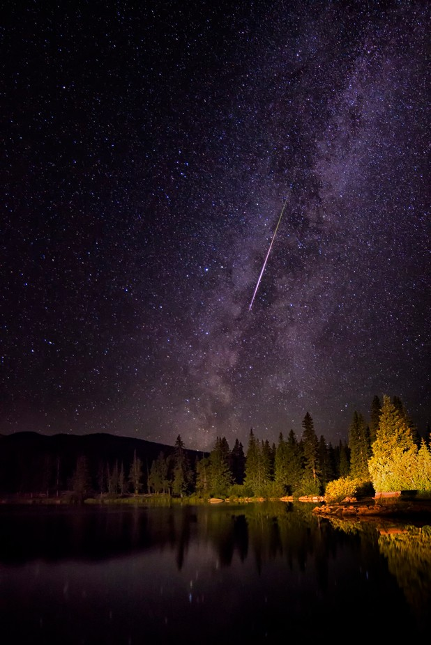 Perseid Spectacular by jasonpersoff - Creative Travels Photo Contest