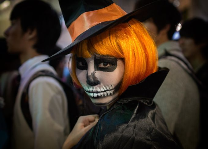 Halloween in Shibuya by briankemper