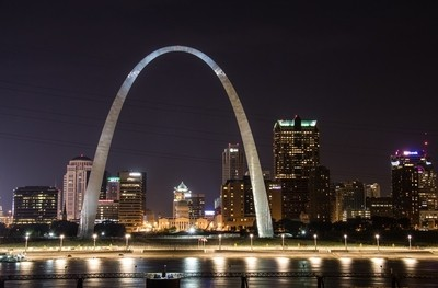 Good Night St Louis Arch!