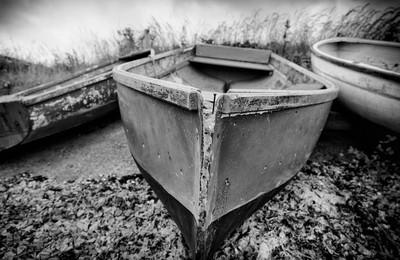 Three forgotten boats