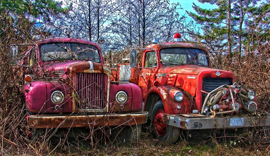 Old Firetrucks