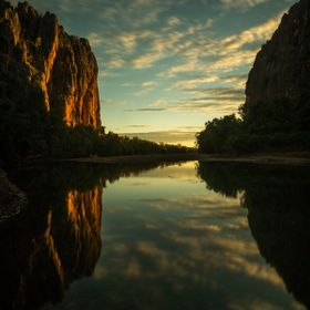 Windjana Gorge National Park in Western Australia, a beautiful spot indeed!!!