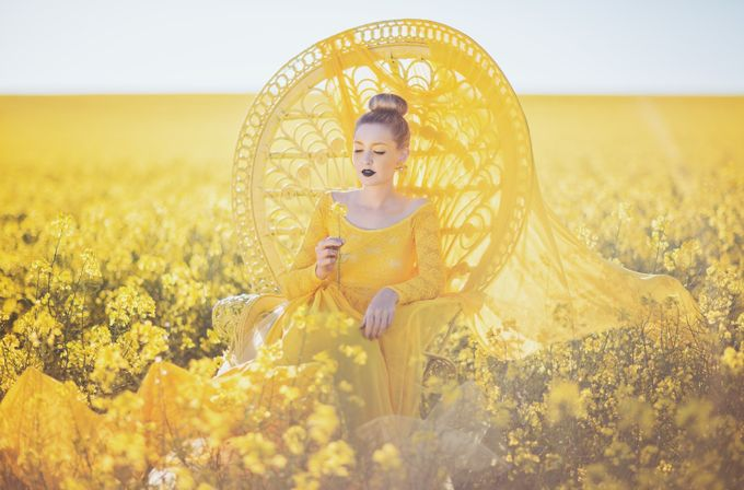 Yellow by natashagilmartinjames - My Favorite Chair Photo Contest