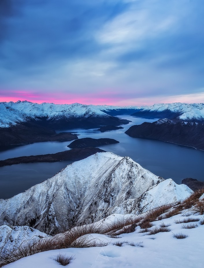 Overlooking Lake Wanaka by amyth91 - Sweeping Landscapes Photo Contest