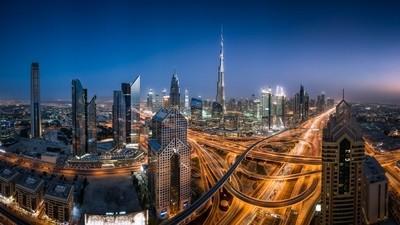 Dubai Just After Sunset
