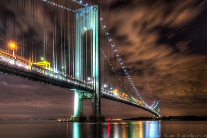 The Verrazano-Narrows Bridge by ShutterSpeak - New York Photo Contest