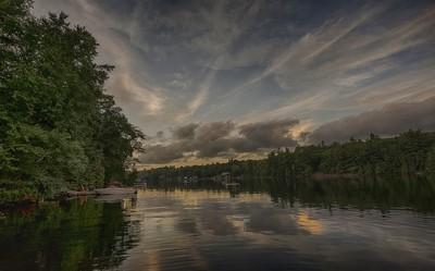 Evening Colours in Muskoka Lakes