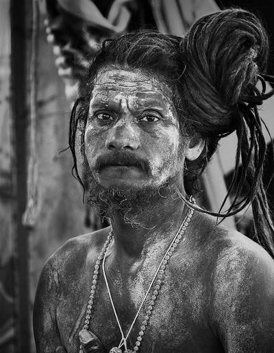 portrait of saddhu