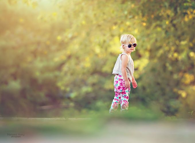 Cool Girl by melissaaveyphotography - TiltShift Effect Photo Contest
