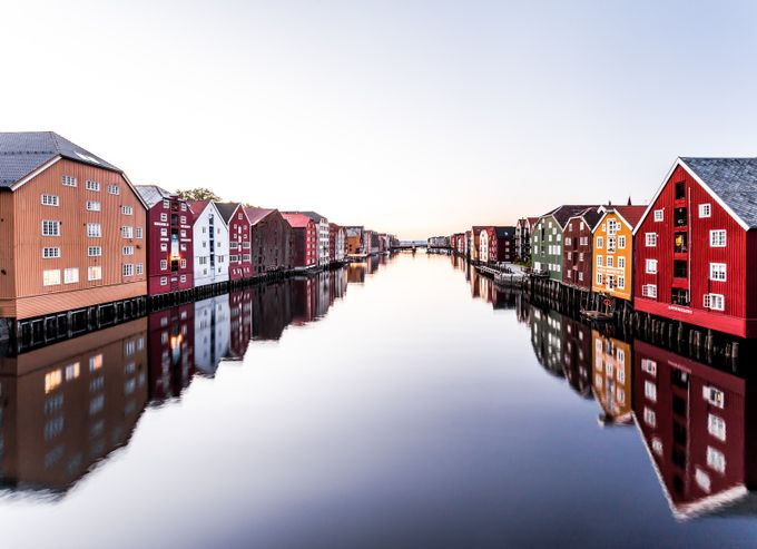 Trondheim by jobau_ - Lakes And Reflections Photo Contest