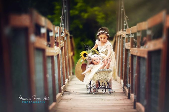 An Afternoon Stroll by StamosFineArt - Kids With Props Photo Contest