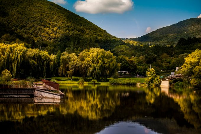 Lovely Lake by JKHampson - Lakes And Reflections Photo Contest