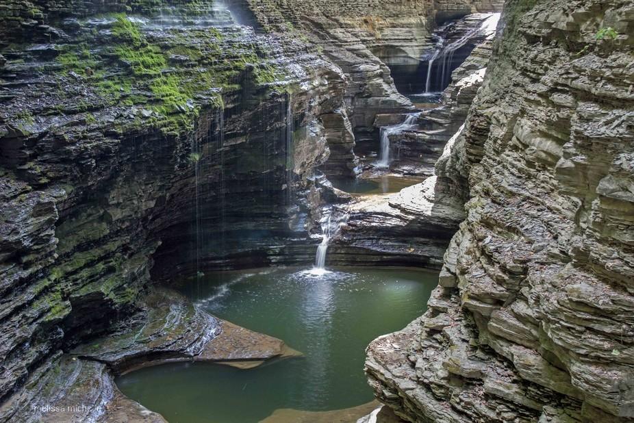 Waterfalls at Watkins Glen State Park, NY