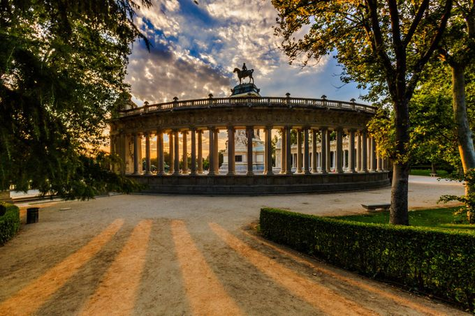 Buen Retiro Parque by ericcriswell - City Sunsets Photo Contest
