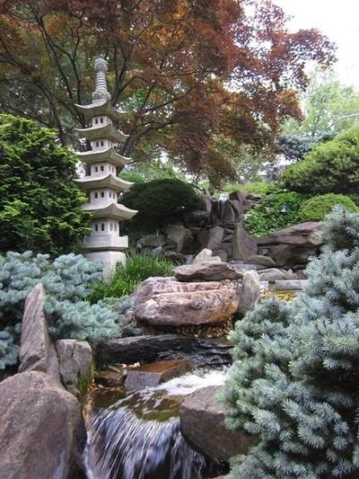 Exquisite Japanese garden