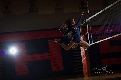 Volleyball Spike!