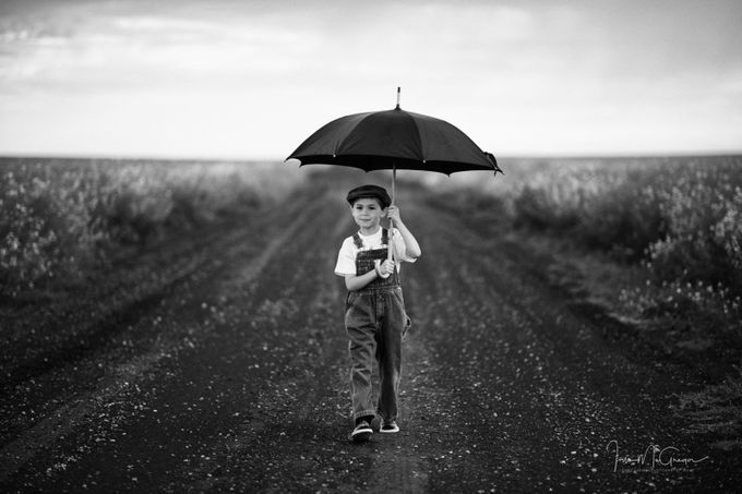 Boy Walking by IanDMcGregor - Kids With Props Photo Contest