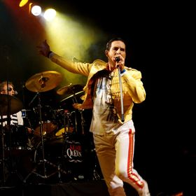 This photo features John Blunt as Freddie Mercury in a tribute band called Killer Queen. John recently completed making a biopic movie about Fred...
