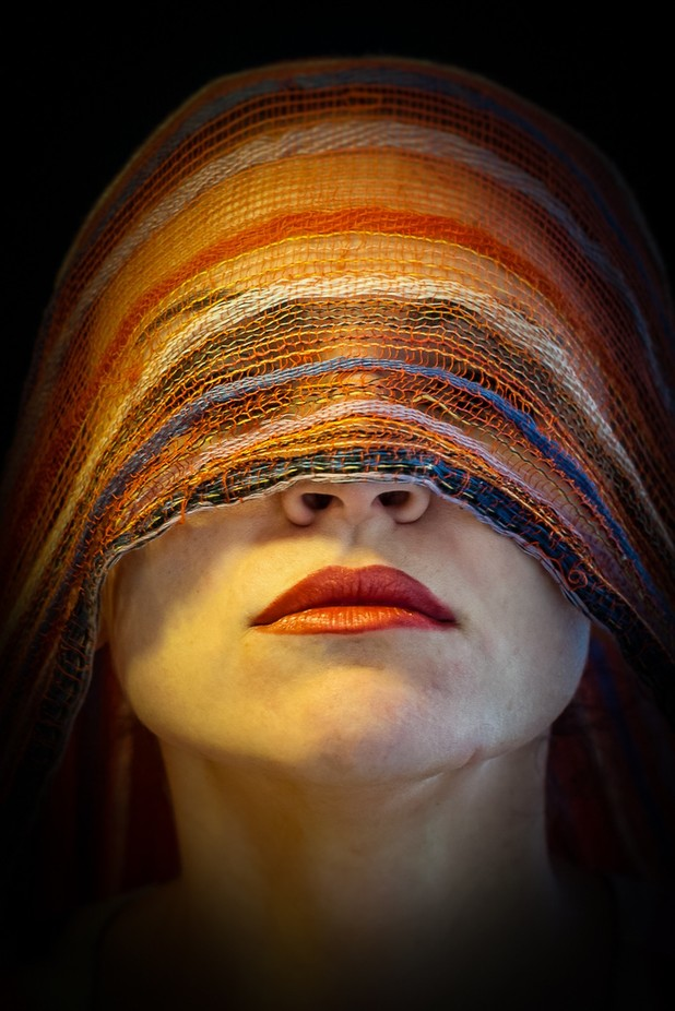 Seing colours with eyes closed  by CristinaCristea - Mysterious Shots Photo Contest
