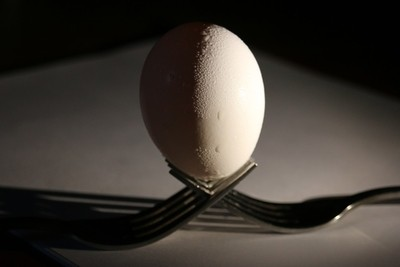 Fork and Egg