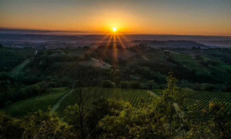 Tuscan Sunrise 1