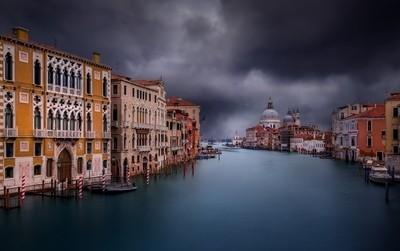 Venice Gran Canal Sunset