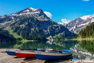 Vilsalpsee, Austria, Tannheimer Tal