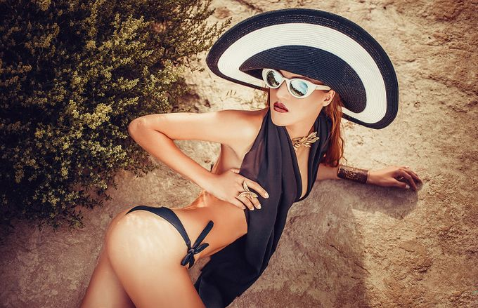 Girl in sunglasses by yurarakovskiy - Sunglasses Photo Contest