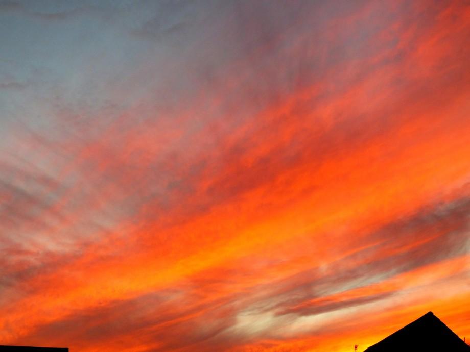Summer Sunset in the Scottish Highlands