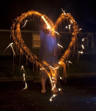 Loving Sparklers