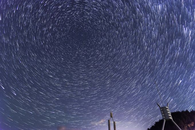Shooting Startrails  by Vanexusphotography